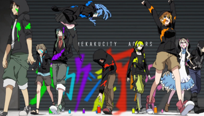 mekaku city actors wallpaper phone - photo #3