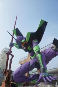 أكبر تمثال Evangelion في العالم يحصل على الرقم القياسي لغينيس في Shanghai 1-200x300