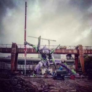 أكبر تمثال Evangelion في العالم يحصل على الرقم القياسي لغينيس في Shanghai 10-300x300