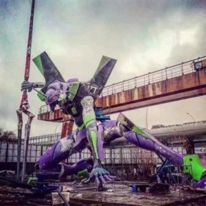 أكبر تمثال Evangelion في العالم يحصل على الرقم القياسي لغينيس في Shanghai 8-300x300