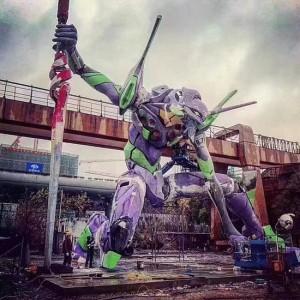 أكبر تمثال Evangelion في العالم يحصل على الرقم القياسي لغينيس في Shanghai 9-300x300